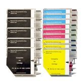 Brother LC-38 / LC-67 Compatible Inkjet Cartridge Set  14 Ink Cartridges