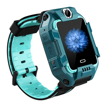 Kids Smart Watch HD Touch Screen GPS Tracker dual cameras 4G network col.Green