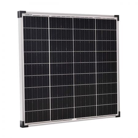 12V 2x 130W Solar Panel Kit Mono Power Camping Caravan Battery Charge USB