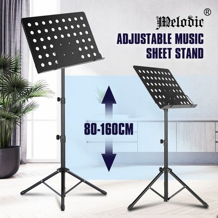 Melodic Folding Music Sheet Stand with Rubber Feet