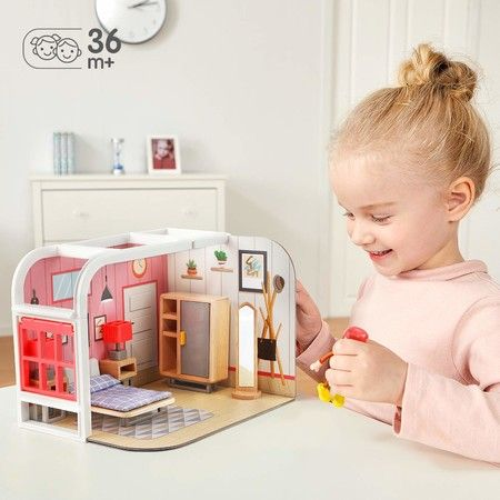 Pretend Play Toy House for Little Girls 3 Yrs