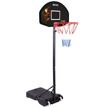 Dr.Dunk Basketball Hoop Stand System Kids Height Portable Adjustable Ring Net