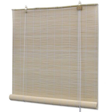 Roller Blind Bamboo 80x220 cm Natural