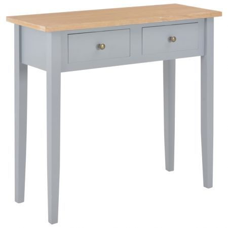 Dressing Console Table Grey 79x30x74 cm Wood