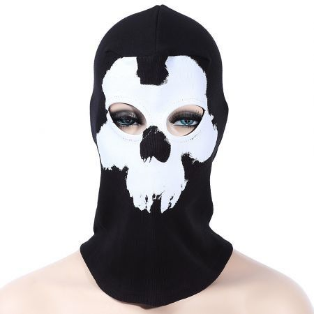 Ghost Skull Full Face Mask Outdoor Cycling Skiing Training Hood Beanie
