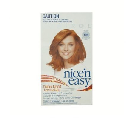 Clairol Nice' n Easy Natural Golden Auburn 108[NIC090]