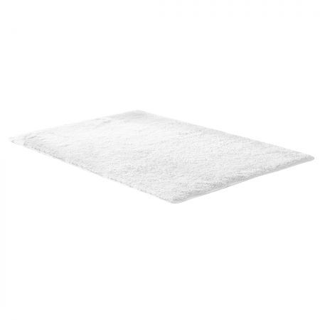 Designer Soft Shag Shaggy Floor Confetti Rug Carpet Home Decor 200x230cm White