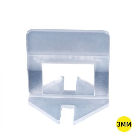 1000x 3MM Tile Leveling System Clips Levelling Spacer Tiling Tool Floor Wall