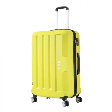 Luggage TSA Hard Case Suitcase Travel Lightweight Trolley Carry on Bag Yellow24""