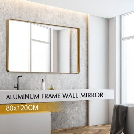 full length wall mirror makeup dressing free standing bedroom mirror 120cm x 80cm