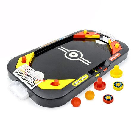 Mini Air Hockey Table Desktop Battle Educational Interactive Toy Kids Gift Indoor Game