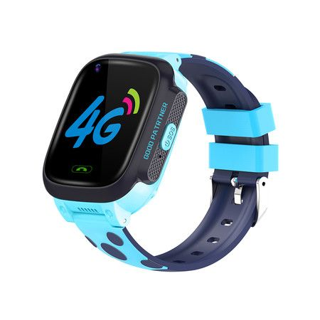 Children's Smart Watch Y95 4G Full Netcom Chat with GPS Positioning Watch Child Student Gift (Blue)