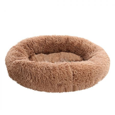 PaWz Pet Bed Mattress Dog Beds Bedding Cat Pad Mat Cushion Winter L Brown