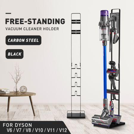 Dyson Vacuum Stand Rack Cleaner Accessories Holder Free Standing V6 V7 V8 V10 V11 V12 Black   Crazy Sales