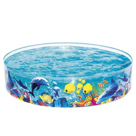 Bestway Swimming Pool Above Ground Kids Play Pools Inflatable Fun Odyssey Pool
