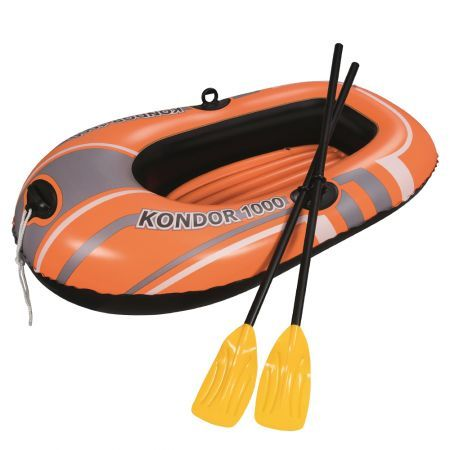 Bestway Kondor Inflatable Boat Float Floats Floating Water Play Pool Toy