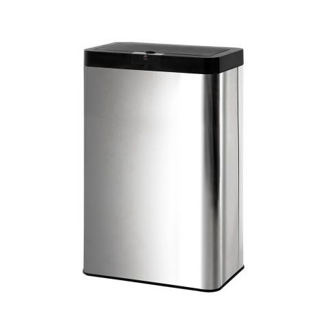 Stainless Steel Sensor Bin Rubbish Trash Bins Motion Automatic Touch Free 60L