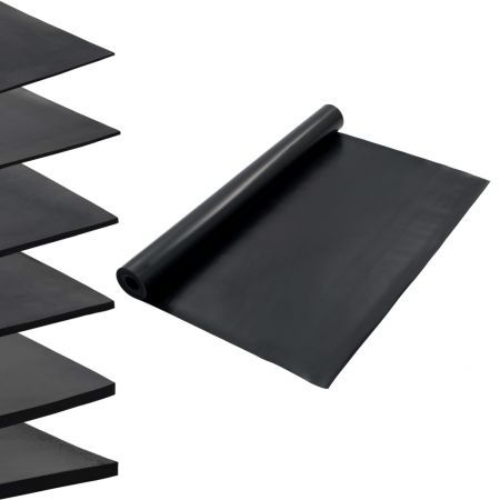 Floor Mat Anti-Slip Rubber 1.2x5 m 2 mm Smooth