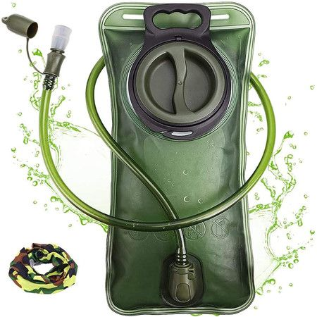Hydration Bladder 2 Liter Leak Proof Water Reservoir,