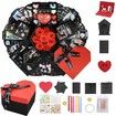 DIY Finished Product Heart-Shaped Explosion Gift Box  Handmade Photo Album
