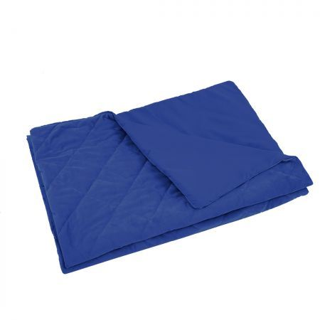 DreamZ 121x91cm Anti Anxiety Weighted Blanket Cover Polyester Cover Only Blue