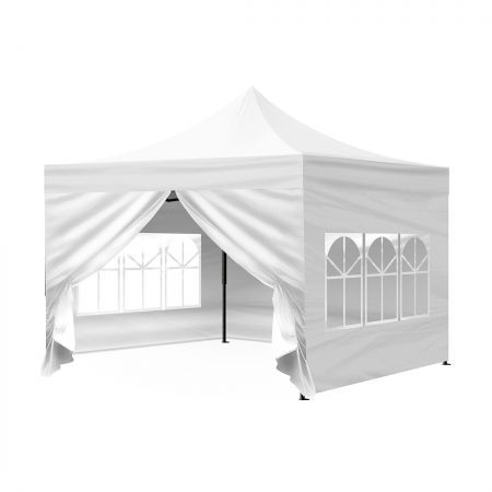 Mountview Gazebo Pop Up Marquee 3x3m Outdoor Canopy Wedding Tent Camping Party