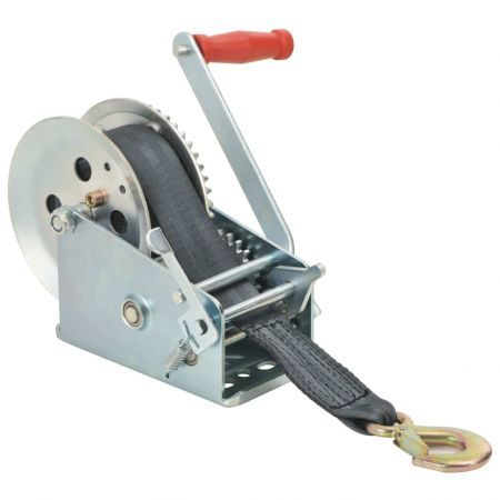 Hand Winch with Strap 1360 kg