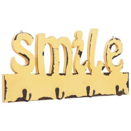 Wall Mounted Coat Rack SMILE 50x23 cm