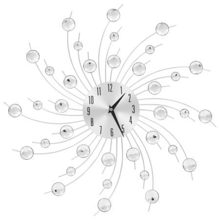 Wall Clock with Quartz Movement Modern Design 50 cm