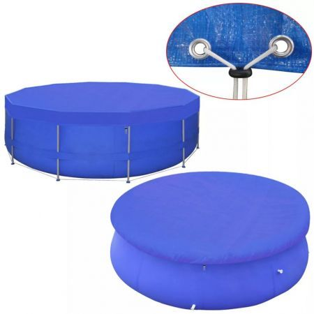 Pool Cover PE Round 540 cm 90 g/m?