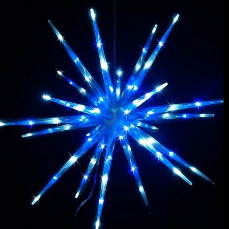 Stockholm Christmas Lights 80 LEDs Meteor Star Fairy Outdoor Garden Xmas Decoration 60CM