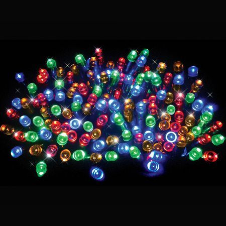 Stockholm Christmas Lights 500 LEDs Solar String Fariy Outdoor Garden Xmas Decoration 39M
