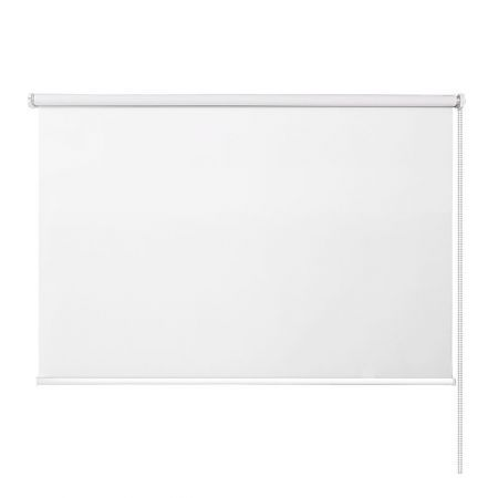 Roller Blinds Blockout Blackout Curtains Window Modern Shades 1.2X2.1M White