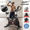 Genki YB-LS01 Exercise Bike Indoor Spin Bike Stationary Bike Home Gym Bike with LCD Monitor