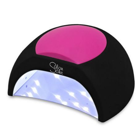 Salon Chic 48W LED UV Nail Lamp Light Gel Polish Dryer Manicure Art Curing Black