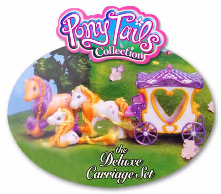 Pony Tails Collections The Deluxe Carriage Set