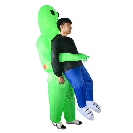 Alien Inflatables Halloween Bar Atmosphere Stage Clothes for Adult | Crazy Sales