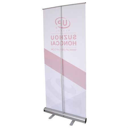 Pull Up Banner Retractable Roll Up Banner Stand Trade show Display 85x200cm