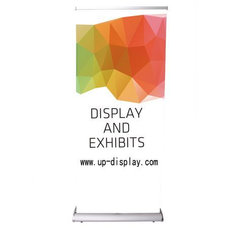 85x200cm Pull Up Banner Retractable Roll Up Banner Stand Trade show Display
