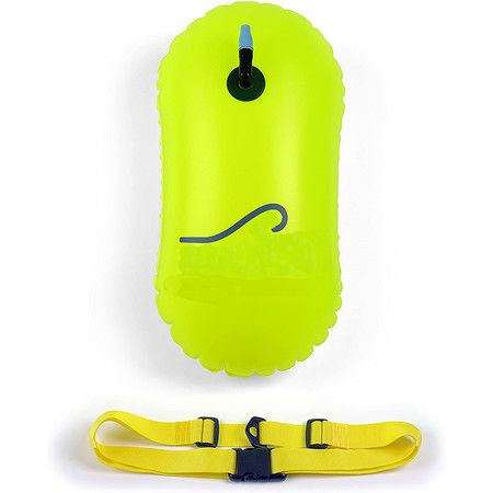 Swim Bubble for Open Water Swimmers and Triathletes (Fluo Green)