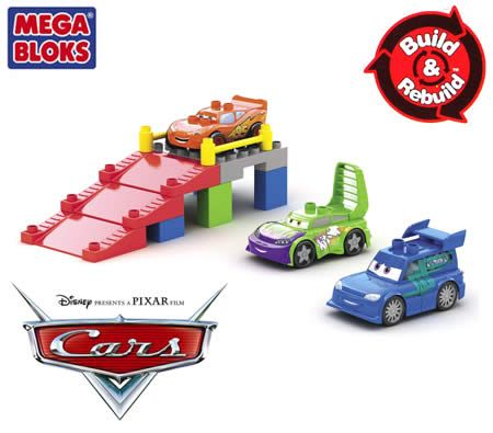 Mega Bloks Disney Pixar Cars Buildable Street Racers