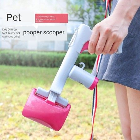Cat and Dog Portable Toilet, Dog Shoveling Shit, Walking Dog, Picking Shit Clip Toilet, Two-in-one Pet Toilet