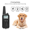 Dog Training Collar with Beep, Vibration, Shock and Light Training Modes, Rechargeable Dog Shock Collar with Long Remote Range, Waterproof