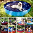 160cmx30 Size XL Foldable Pool for Pet bath Tub and Kids Pool