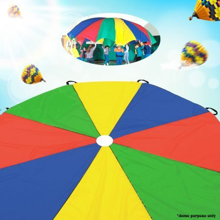 3.5M Kids Play Parachute Toy  - Multi-Coloured