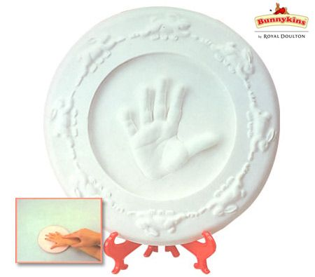 Royal Doulton Bunnykins Childhood Keepsake Handprint Kit Gift Box