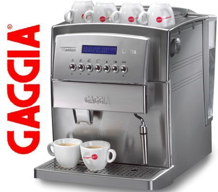 Gaggia Titanium Coffee Maker Machine