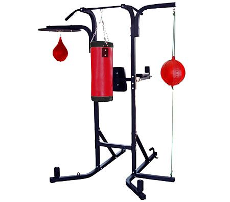 Professional Boxing Stand Gym Station with Punching Bag ...