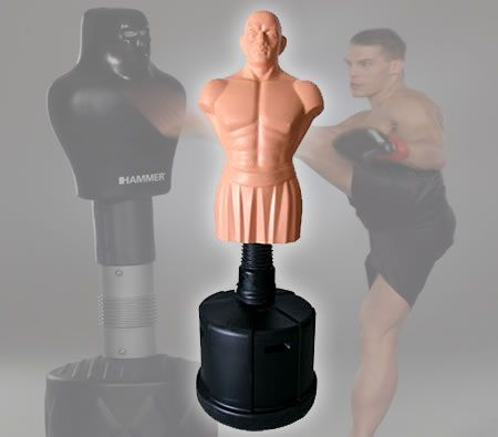 Free Standing Human Punching Boxing Training Dummy With