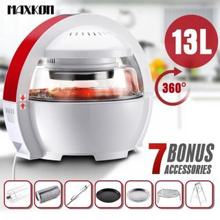 maxkon ufo designed multi purpose healthy air fryer oven cooker shop aldi air mattress for small kitchen appliances online   cheap      rh   m crazysales com au